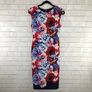 Vince Camuto Floral Dress, Size 6